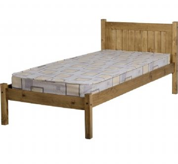 Maya Single Bedframe (3Ft) - Pine